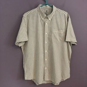 Timberland Short Sleeve Button Down Shirt X Large
